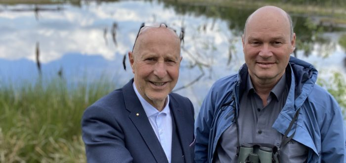 """Axel Jahn, """"Loki-Schmidt-Stiftung"""" erklärt die Bedeutung des Wittmoores"""