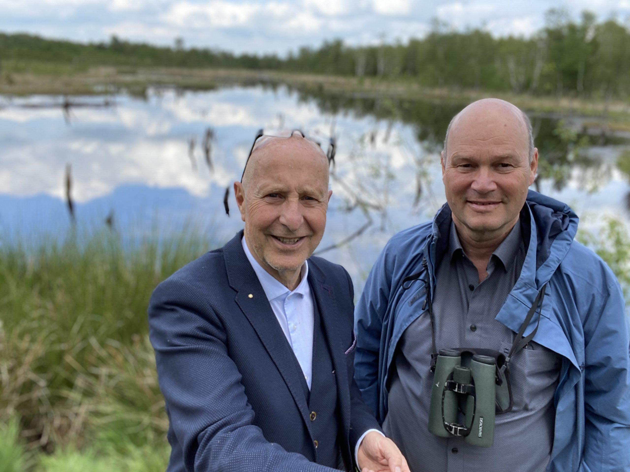 25: Das Wittmoor in Hamburg Lemsahl – ein Spaziergang mit dem Chef der Loki-Schmidt-Stiftung